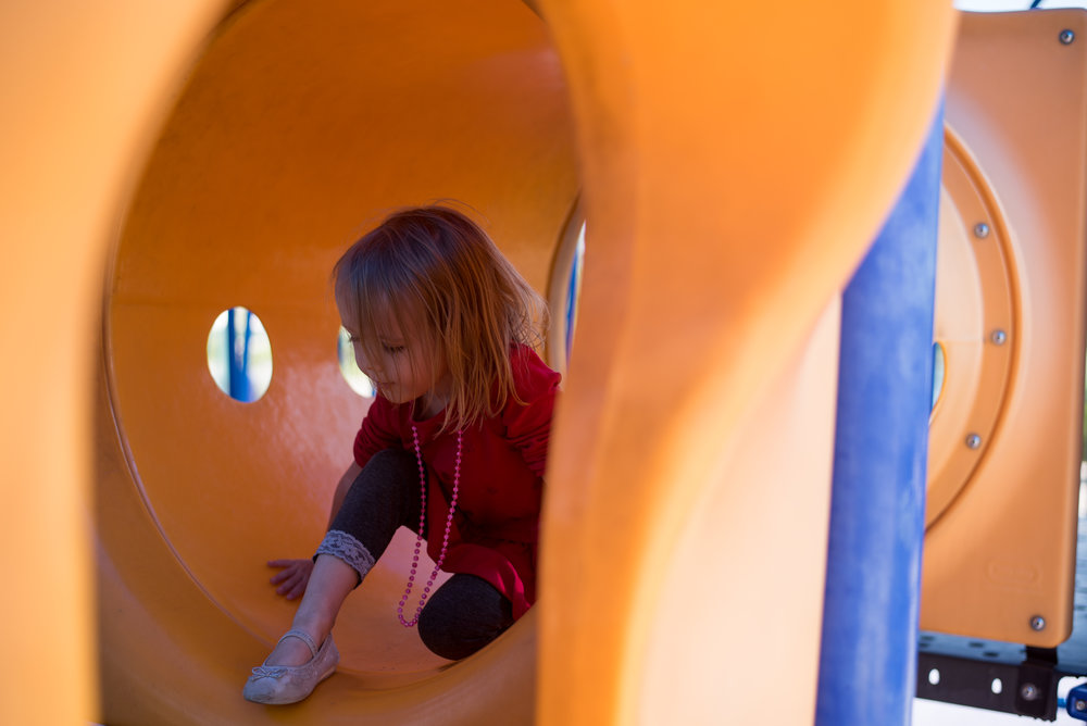 park tunnel, northglenn park, playground diaries