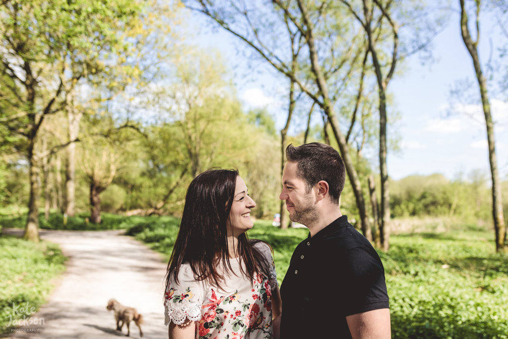 Relaxed Pre Wedding Engagement Photos - Kate Jackson Wedding Photography