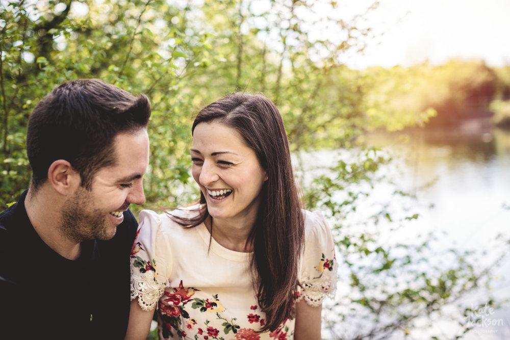 Woodland Engagement Shoot Birmingham   Kate Jackson Wedding Photography