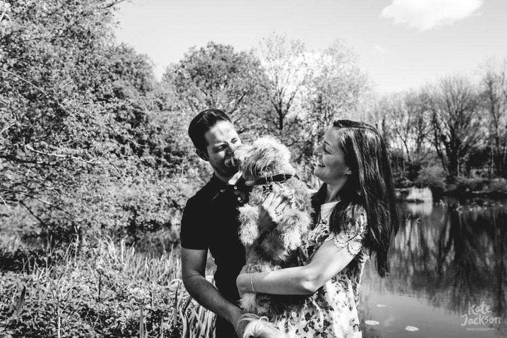 Natural Engagement Shoot   Kate Jackson Wedding Photography