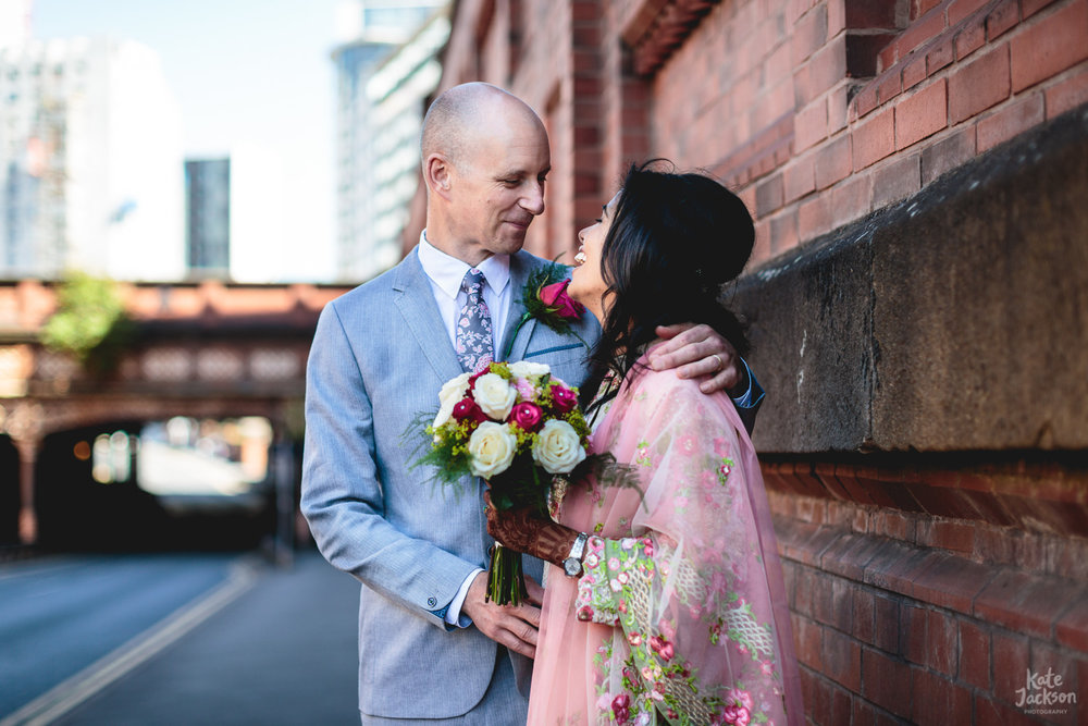 Quirky Birmingham City Centre Wedding | Kate Jackson Photography