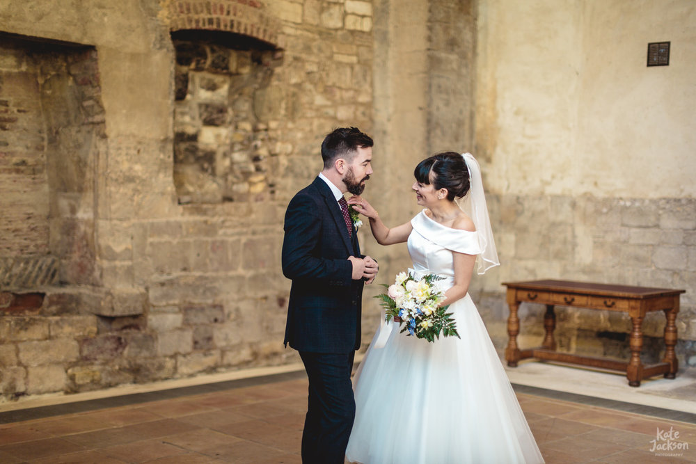 Boho Wedding - Gloucester Blackfriars Priory Photographer | Kate Jackson Photography