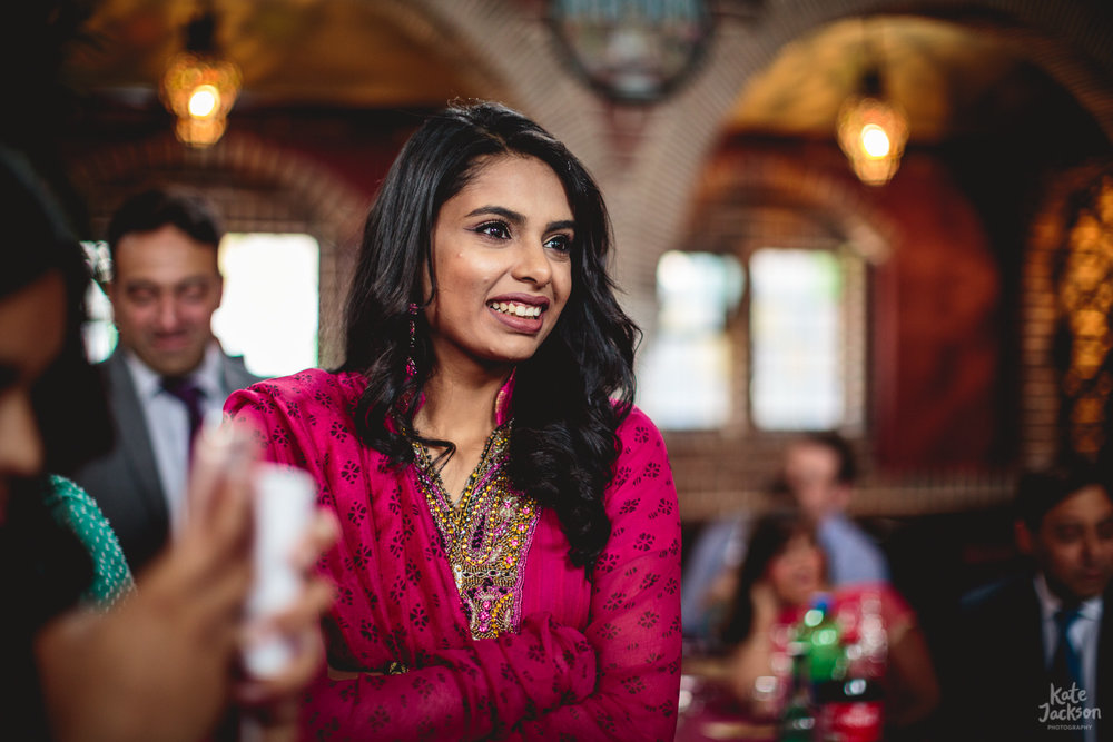 Fun Asian Wedding in Birmingham Natural Photographer | Kate Jackson Photography