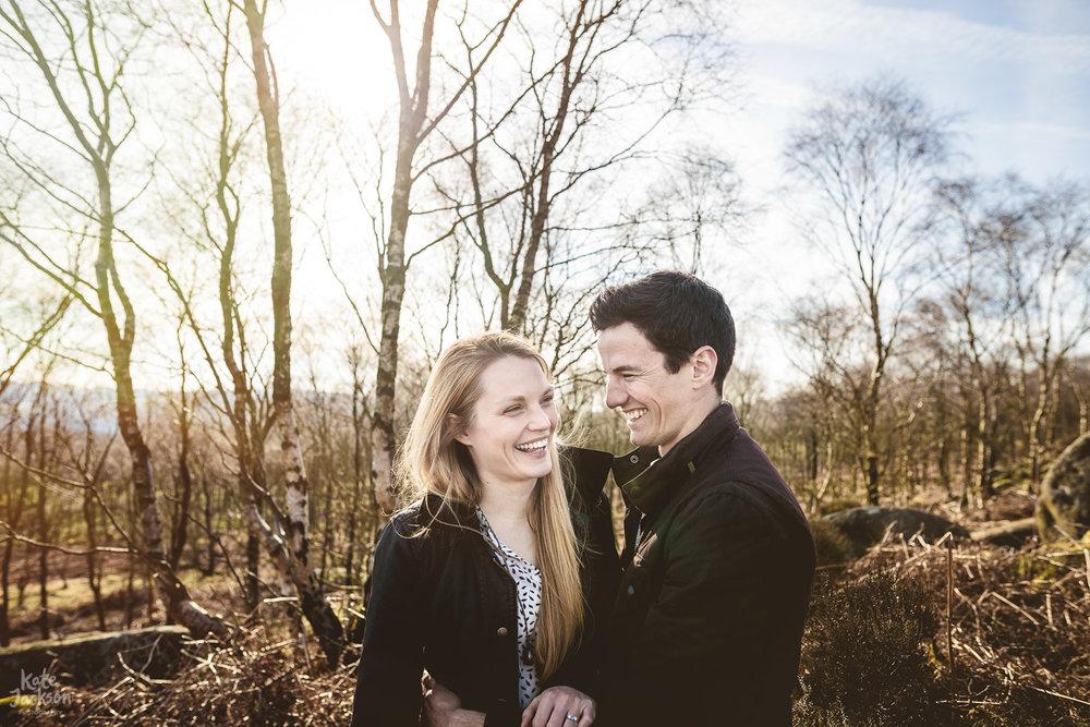 Woodland Outdoor Unposed Wedding Photographer