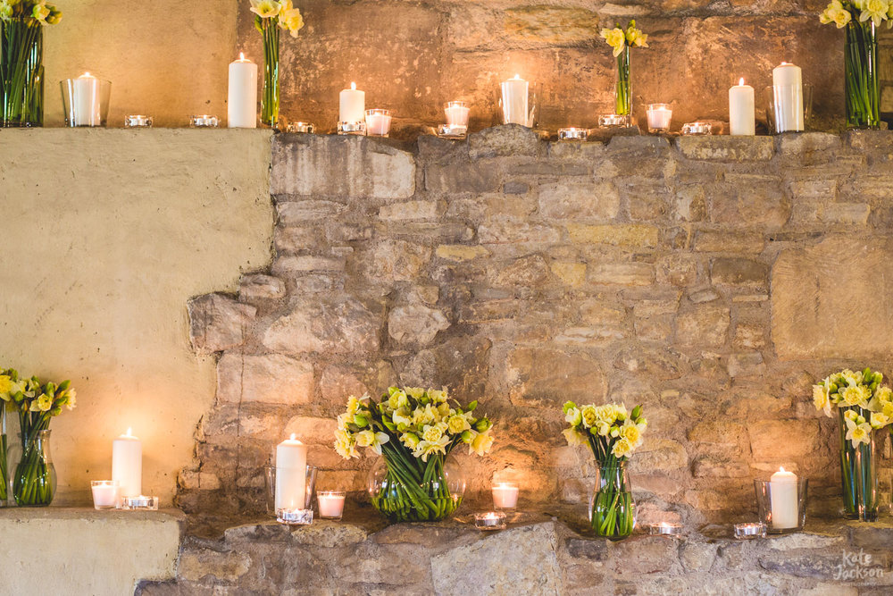 Spring Wedding Details at Blackfriars Priory | Kate Jackson Wedding Photography
