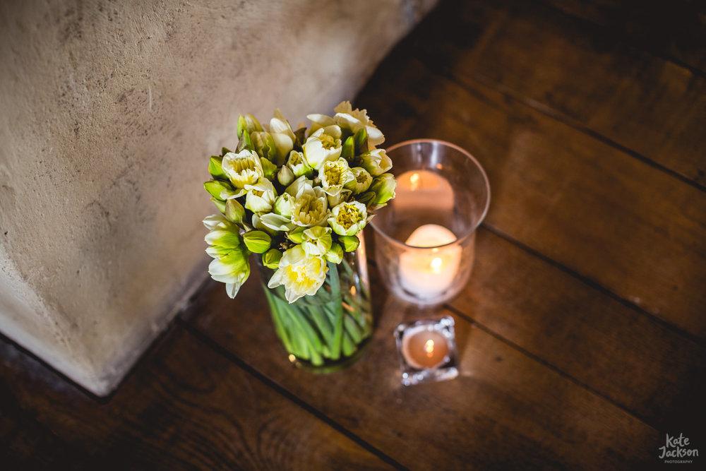 Spring Wedding Flowers - Blackfriars Priory Gloucester