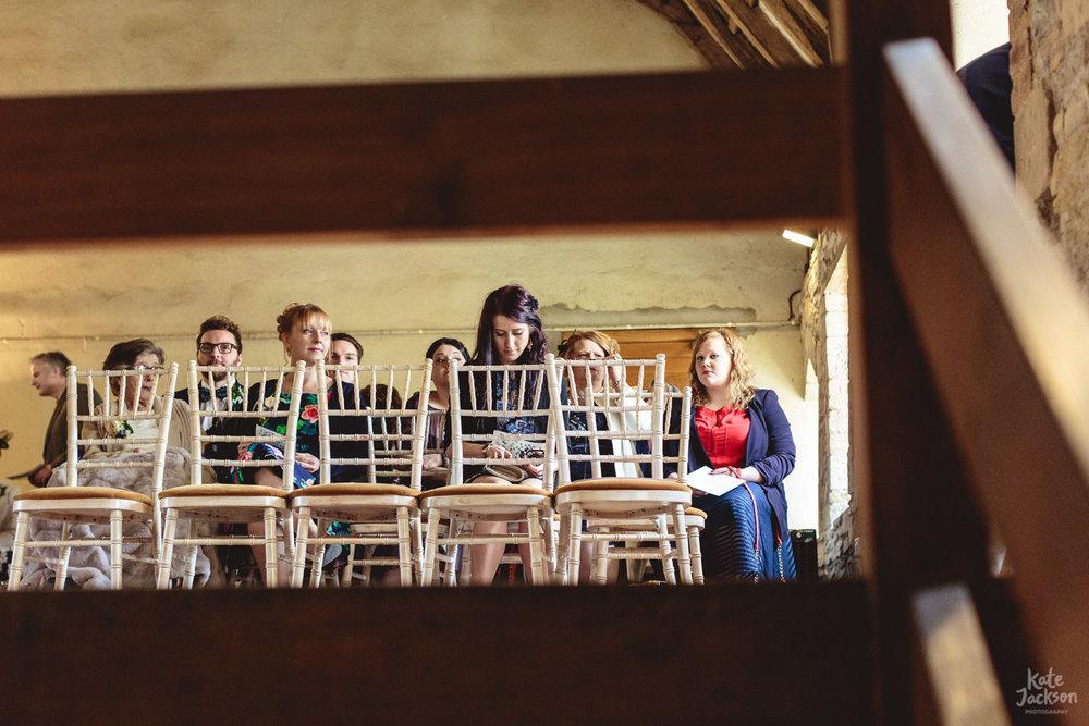 Wedding Guests at Blackfriars Priory | Kate Jackson Photography