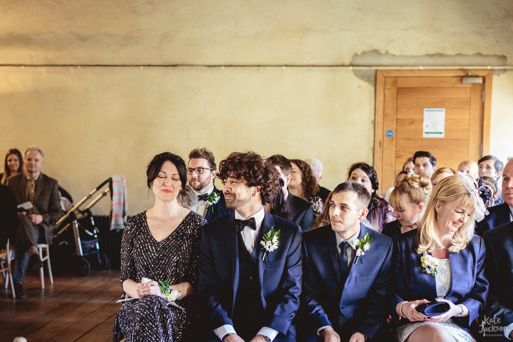 Bridal party at Blackfriars Priory Gloucester | Kate Jackson Wedding Photography