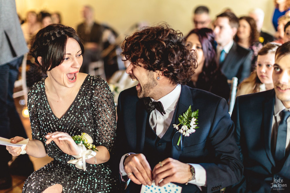 Fun & Quirky Wedding at Blackfriars Priory Gloucester