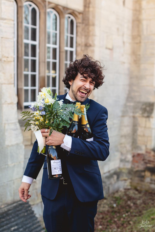 Blackfriars Priory Gloucester Fun Wedding Photographer