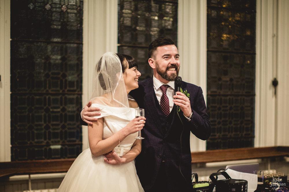 Wedding Speech at The Bond Birmingham