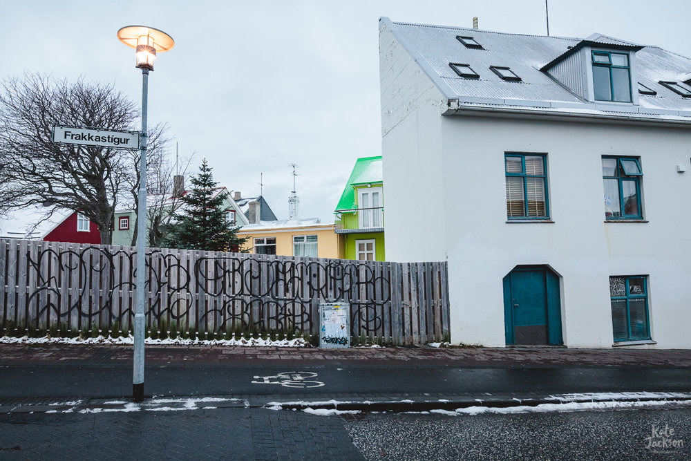 Iceland Travel Photography - Colourful Streets