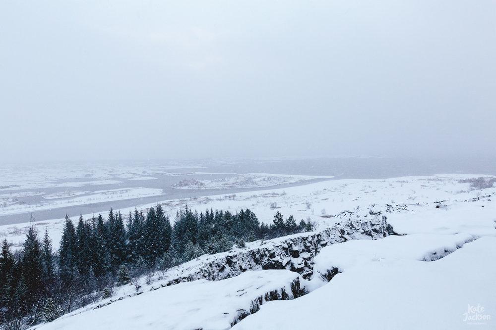 Iceland Travel Photography - Þingvellir national park, a UNESCO World Heritage site
