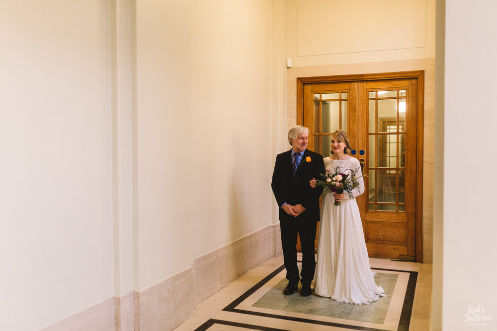 Hackney Town Hall Relaxed Wedding Photography