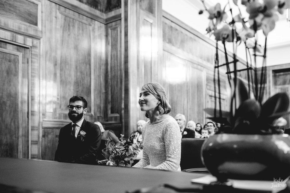 Alternative Hackney Town Hall Wedding Photographer