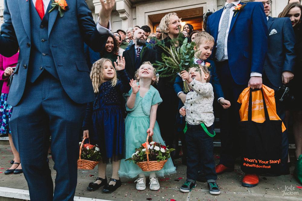 Hackney Town Hall Natural Wedding Photography
