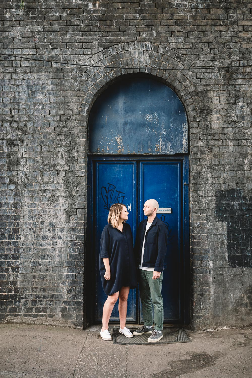 Alternative Urban Pre Wedding Photography at Fazeley Studios