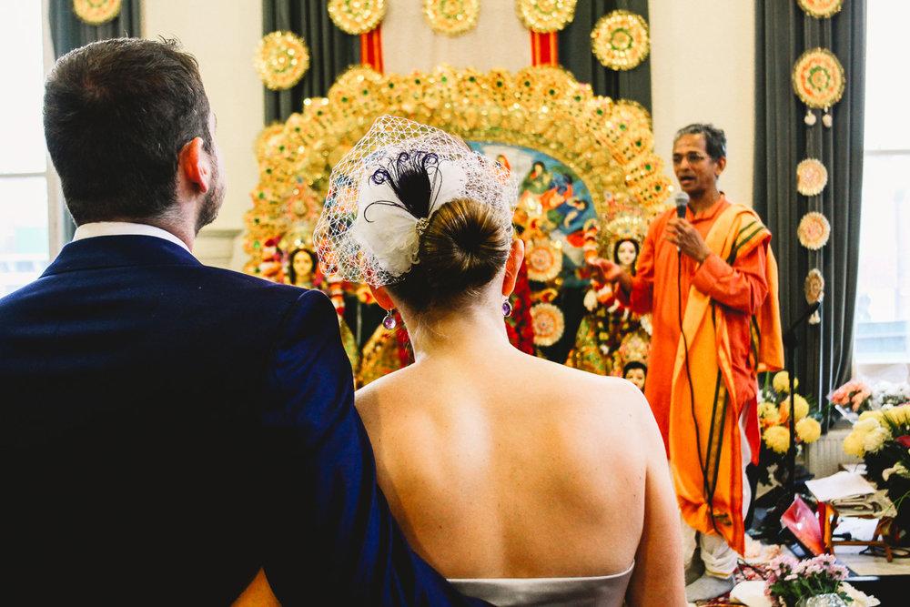 Alternative London Wedding Photographer Hackney Town Hall