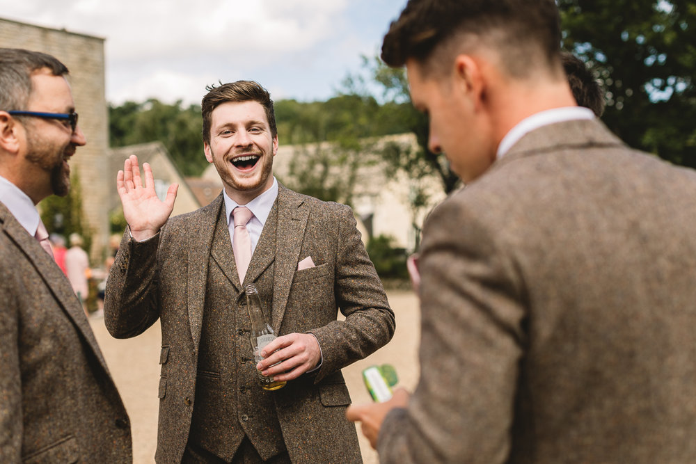 Fun Hyde Barn Wedding Photos