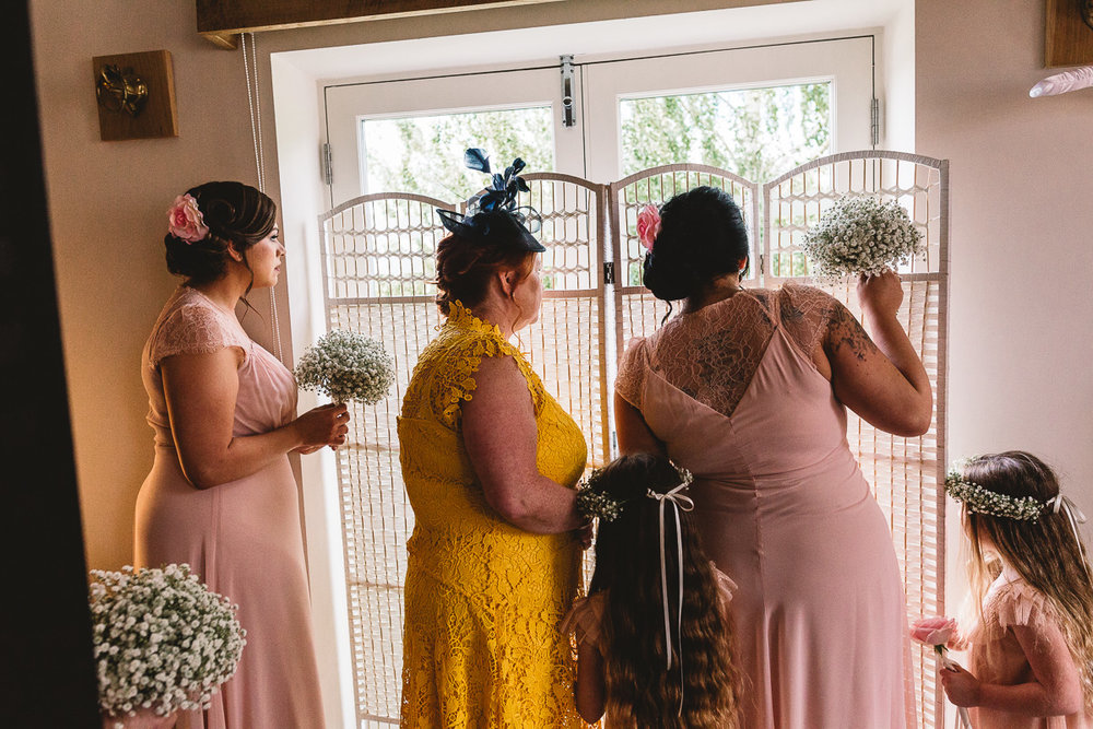 Documentary Wedding Photographer Hyde Barn Cotswolds