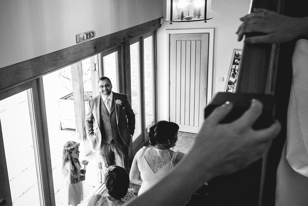 Reportage Wedding Photography at Hyde Barn