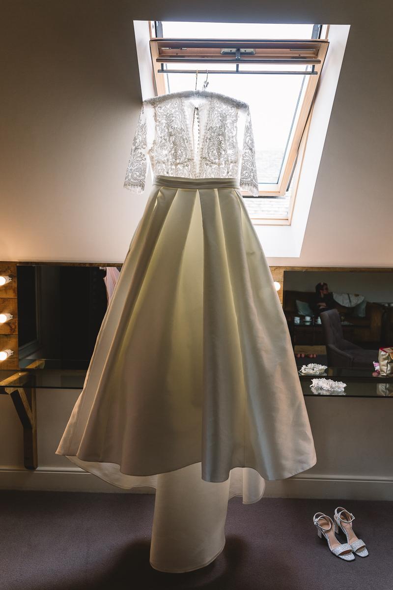 Vintage Berketex Wedding Dress at Hyde Barn