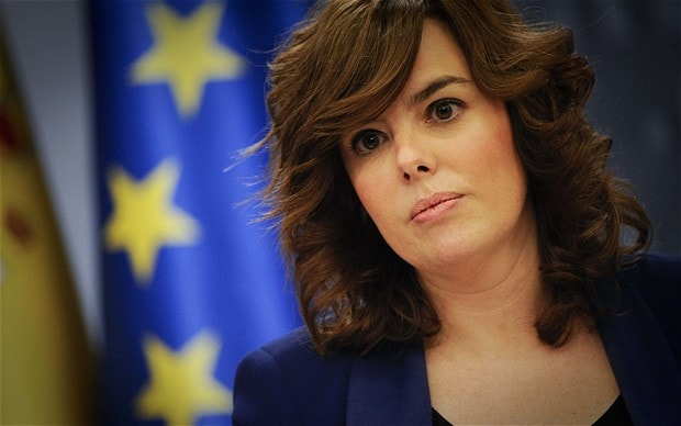 Soraya Saenz de Santamaria (AFP/Getty)
