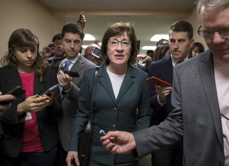 Sen. Susan Collins (J. Scott Applewhite/AP)