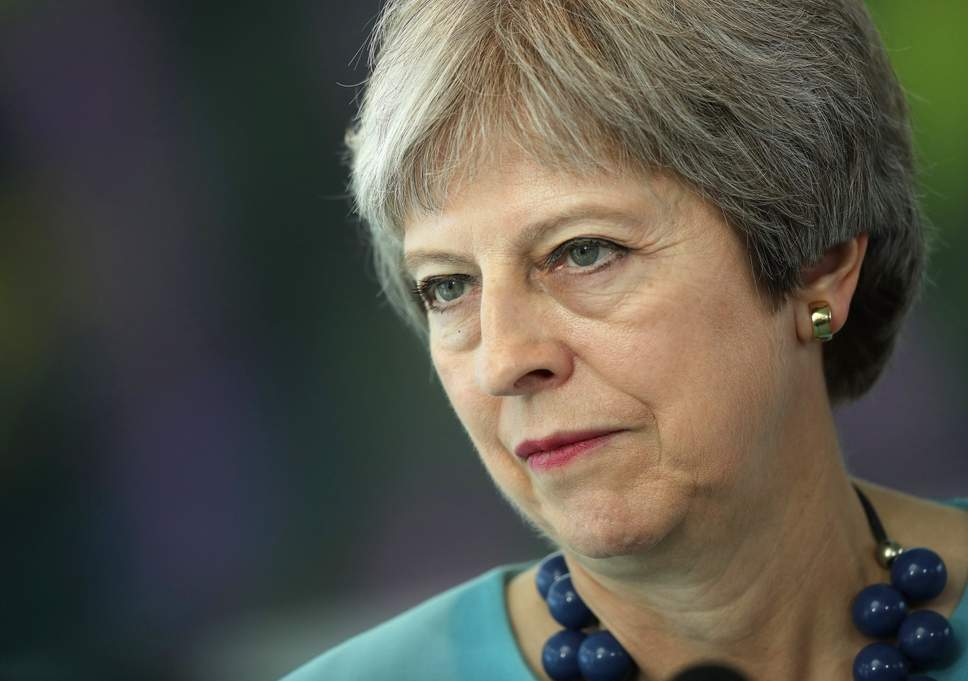 Prime Minister Theresa May (Photo by EPA)