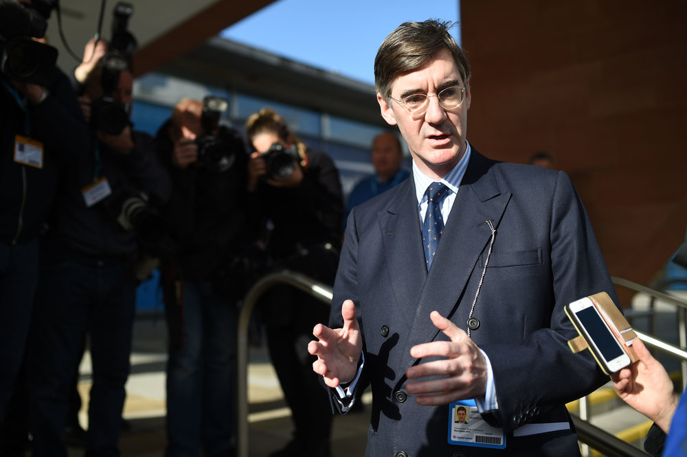 MP Jacob Rees-Mogg ( Oli Scarff/AFP