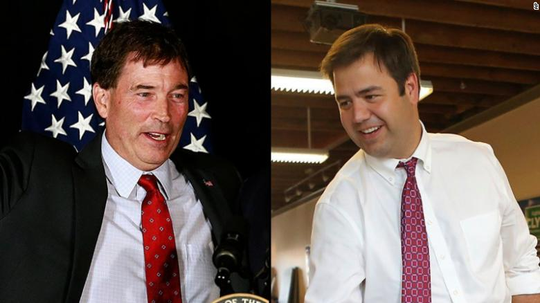 Troy Balderson (left) & Danny O'Connor (right)