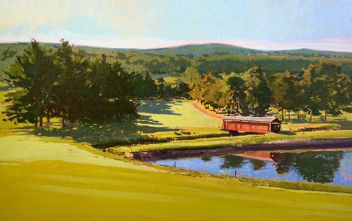 'Morning At Latrobe' Oil on Linen