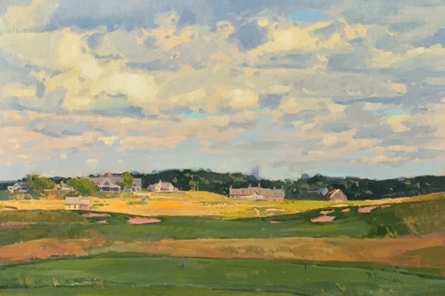 "'Light & Drama' 18th Hole, Erin Hills 12""x 18"" $4000.00"