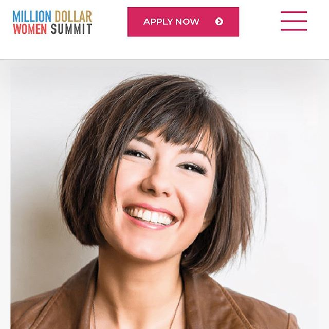 I'm speaking at the Million Dollar Women summit with the fabulous @juliapimsleur next Friday along side these INCREDIBLE speakers! Who's coming?!!