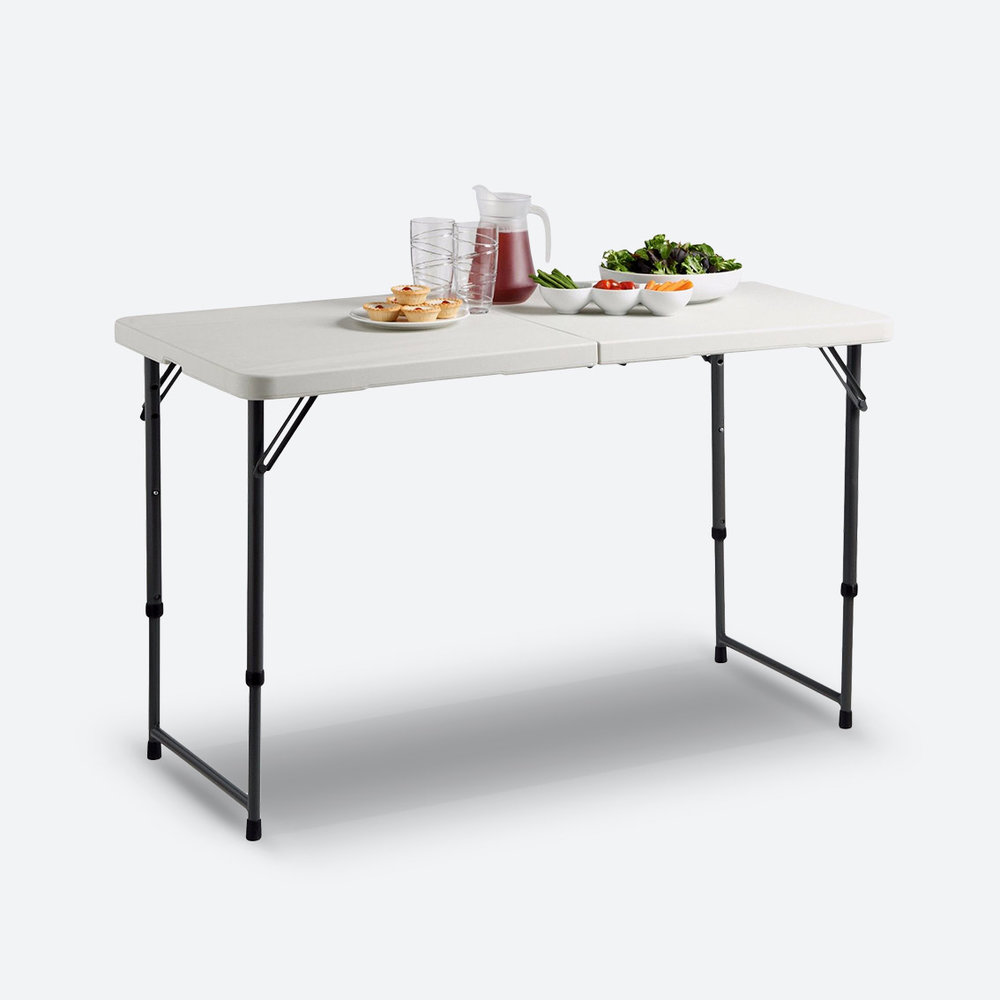 RECTANGLE TRESTLE TABLES  FROM $9.00
