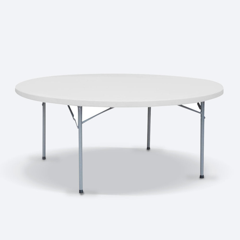 ROUND TRESTLE TABLES  FROM $14.00