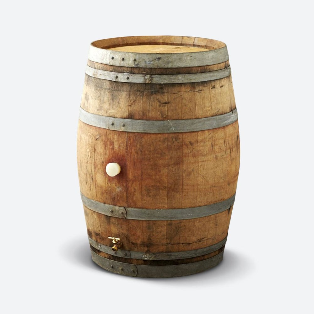 FULL WINE BARRELS   $45.00