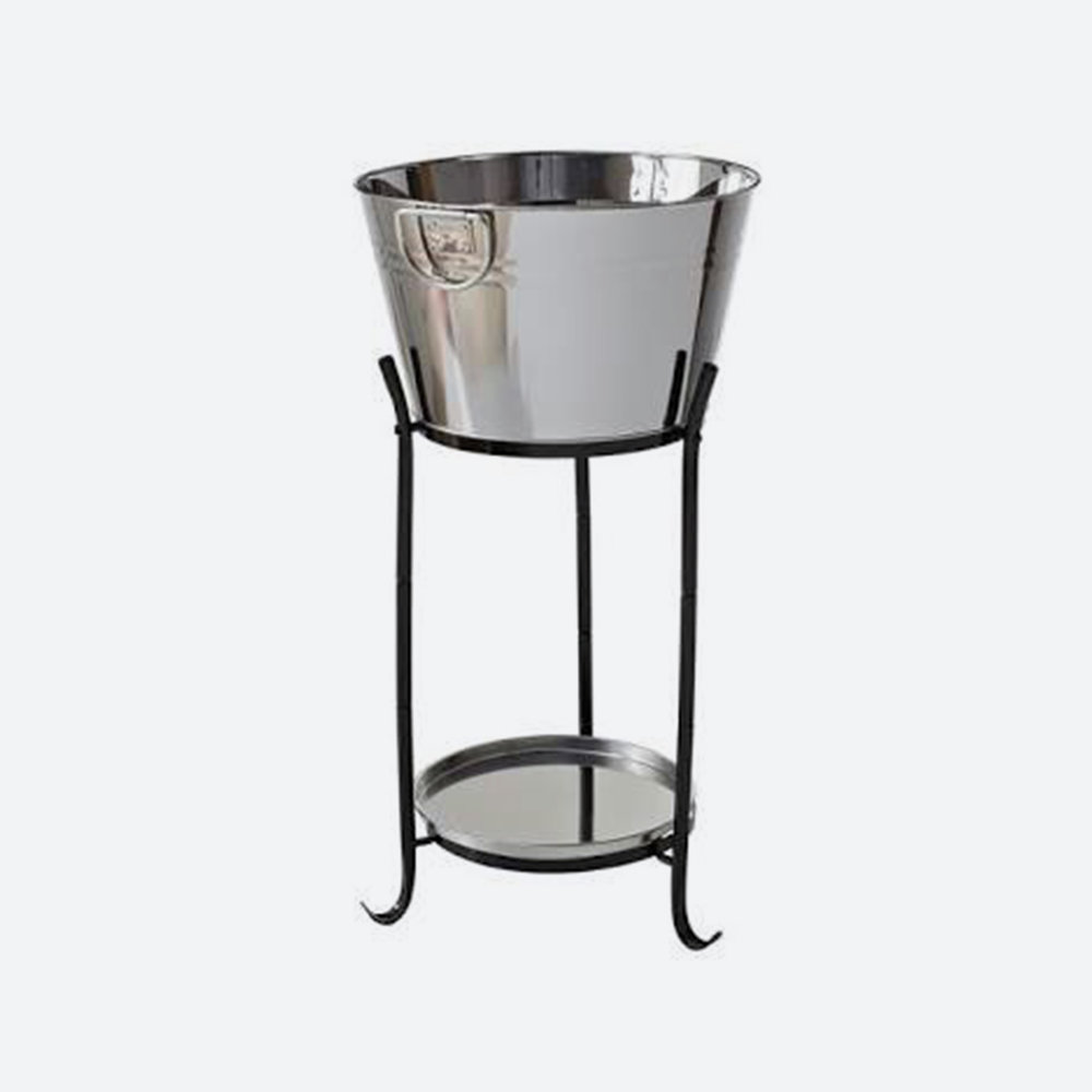 ice bucket stainless steel   $22.00