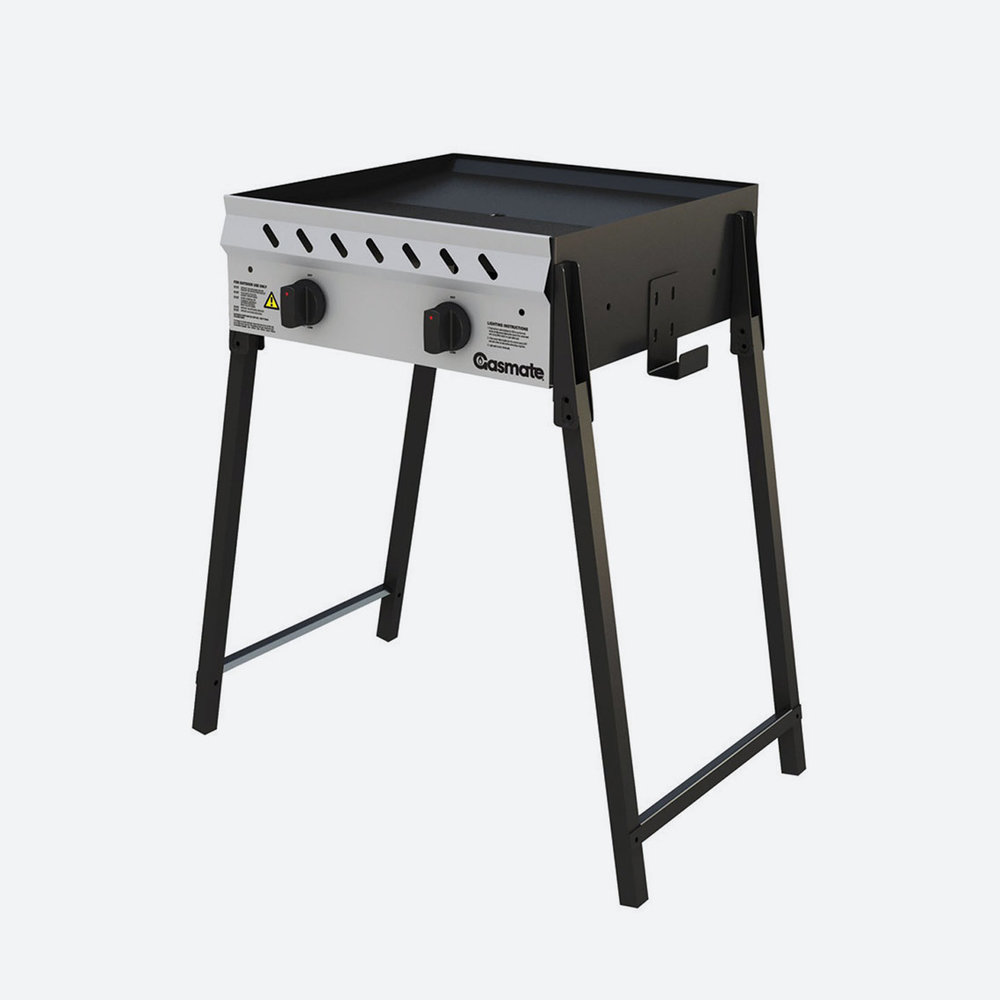 BBQ 2 BURNER  with lpg bottle  $80.00