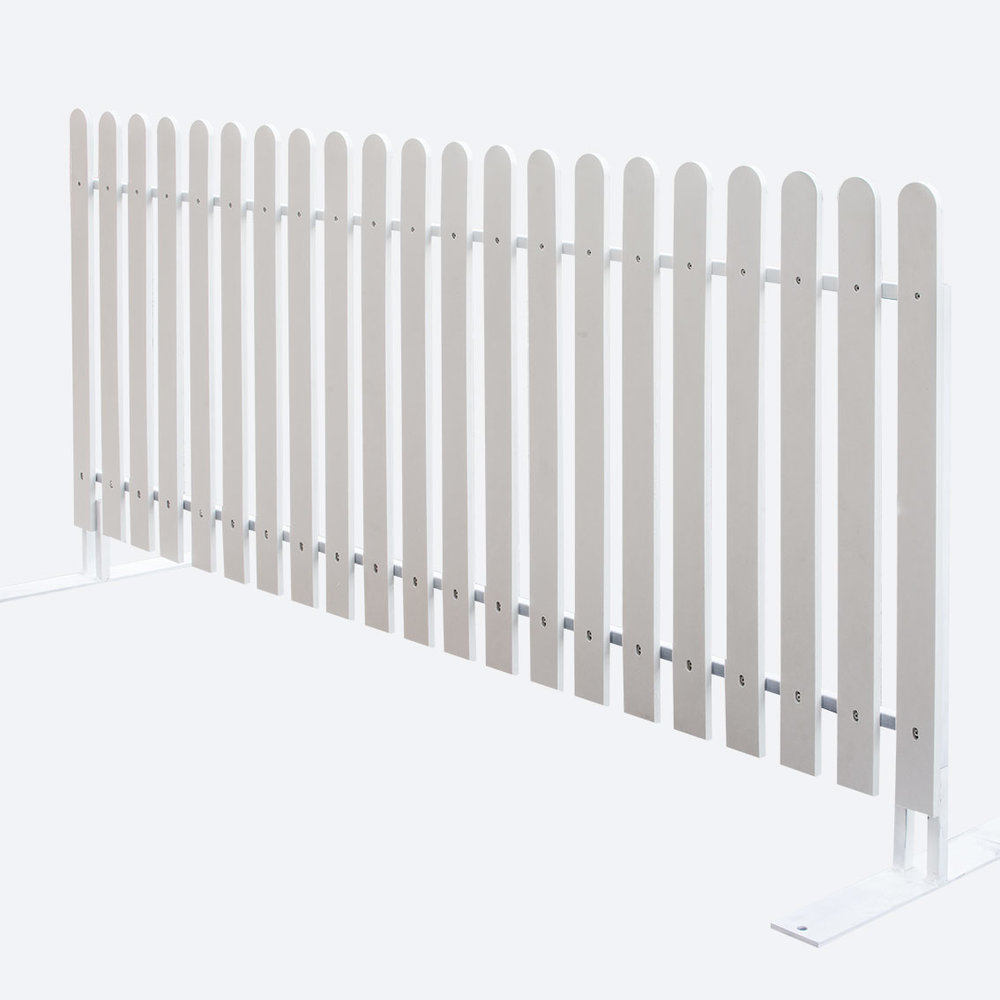 PICKET FENCE - WHITE   $35.00