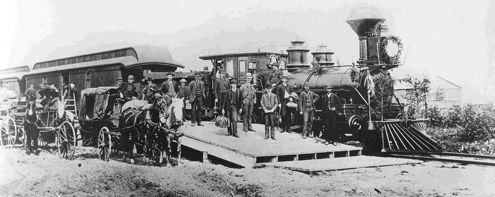Canada's first transcontinental train