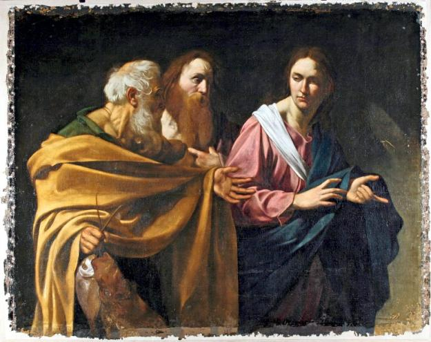 Andrew and Peter's Calling-  caravaggio.jpg