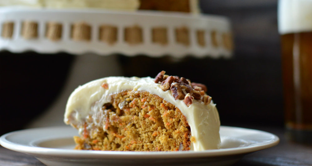 Carrot Cake and IPA are a classic beer pairing!