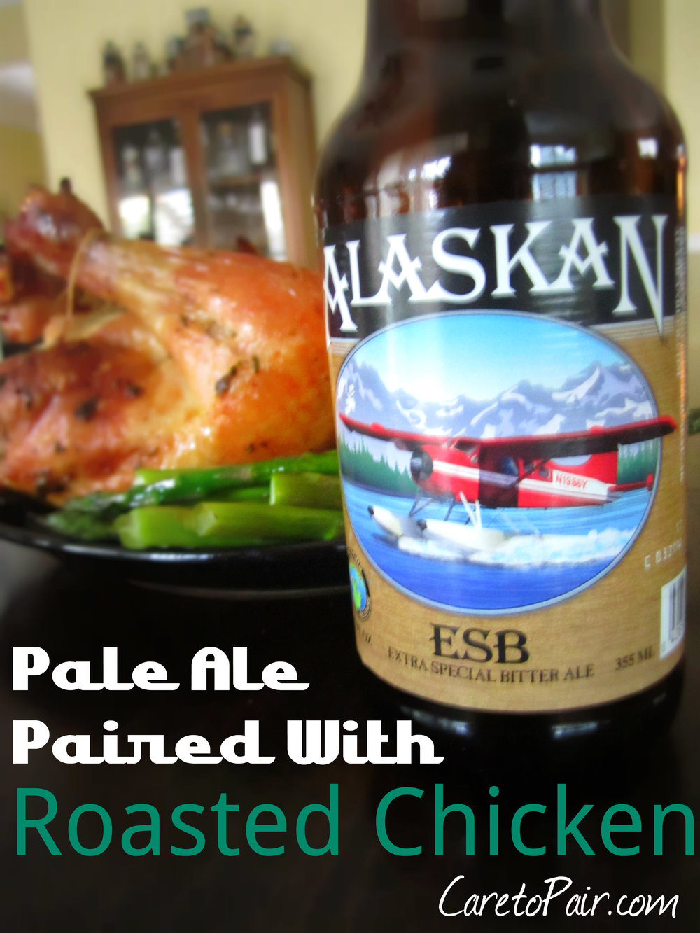 Pale Ale and Roasted Chicken from CaretoPair