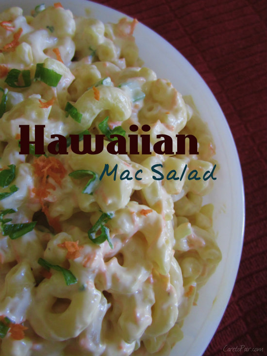 Hawaiian Mac Salad Pairing