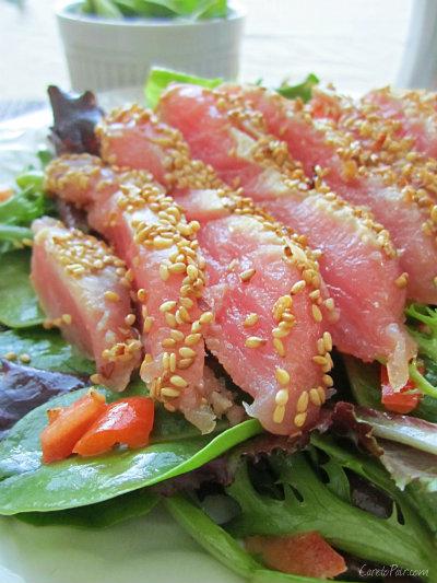 Ahi Tuna Salad CaretoPair.com