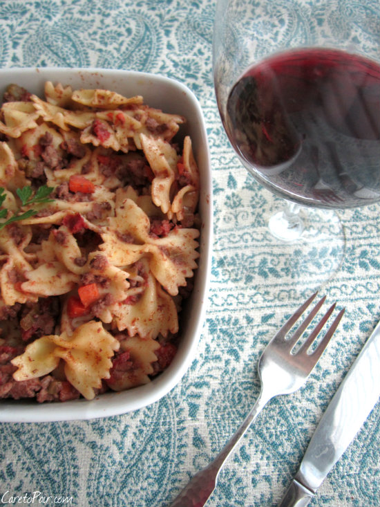 Bolognese Sauce on CaretoPair.com