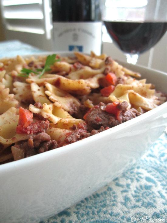 Chiarlo and Pasta
