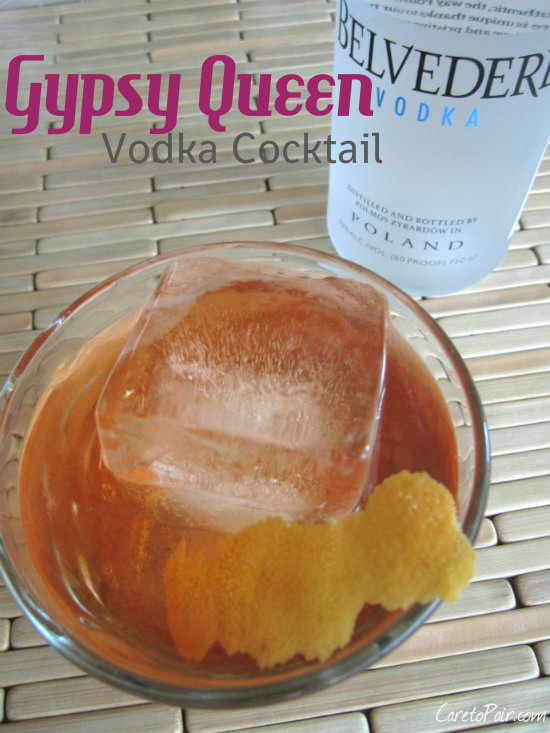 Gypsy Queen Vodka Cocktail