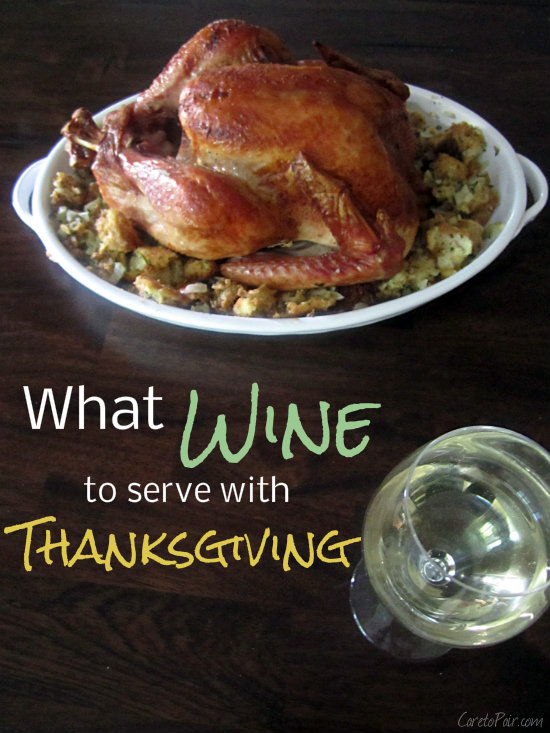 Thanksgiving Wine Pairing on CaretoPair.com